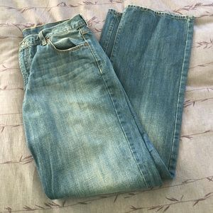 Lucky Brand Straight Leg Jeans Size 33 Long